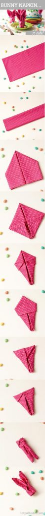 Easter Napkin Ideas